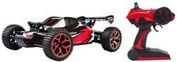 RC model auta pro začátečníky - elektrická bugina Amewi Storm D5 22222 RtR 1:18, 4WD (4x4), červenávč. akumulátorů, nabíječky a baterie ovladače