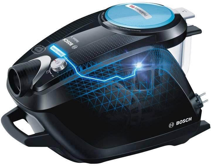 Bagless Vacuum Cleaner Bosch Haushalt BGS5SMRT66 Relaxxu0027x ProSilence66 700  W EEC A Black, ...