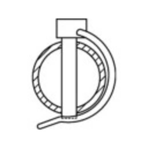 Rohrklappstecker 50 St. TOOLCRAFT 149923