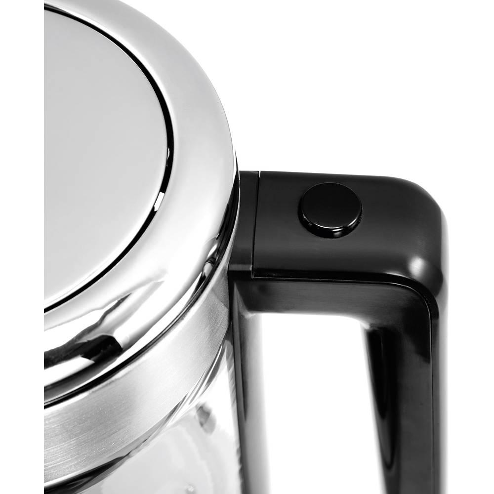 bouilloire wmf 0413180011 acier inoxydable verre sur le site internet conrad 1499319. Black Bedroom Furniture Sets. Home Design Ideas