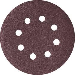 Brusné papíry pro excentrické brusky SKIL 2610383124 na suchý zip, Zrnitost 120, (Ø) 125 mm, 5 ks