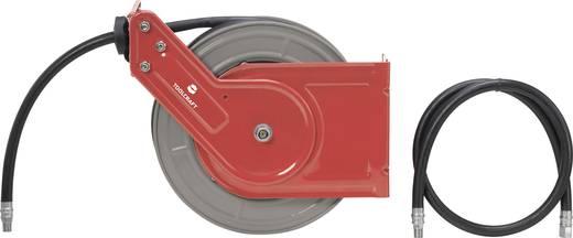 druckluft schlauchaufroller 10 m 20 bar toolcraft tc ahr 10 metal wandbefestigung deckenbefestigung. Black Bedroom Furniture Sets. Home Design Ideas