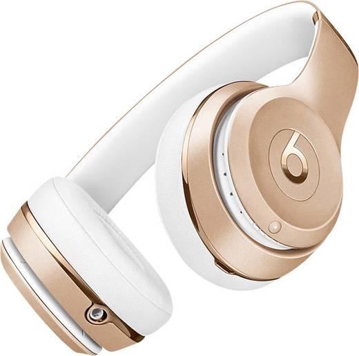 bluetooth kopfh rer beats solo wireless on ear faltbar headset gold kaufen. Black Bedroom Furniture Sets. Home Design Ideas