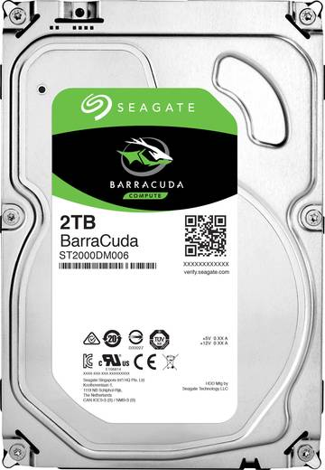 Interne Festplatte 8.9 cm (3.5 Zoll) 2 TB Seagate ST2000DM006