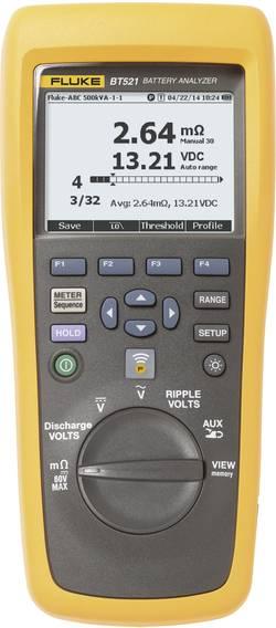Tester baterií LCD Fluke BT521, gelové baterie, AGM baterie a otevřené články s plovákem