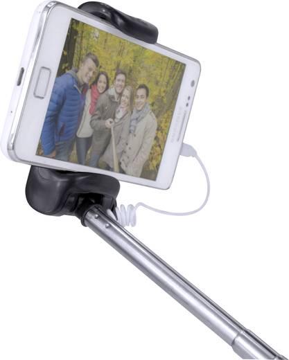 Selfie Stick X4-LIFE X1 7 cm Schwarz/Silber