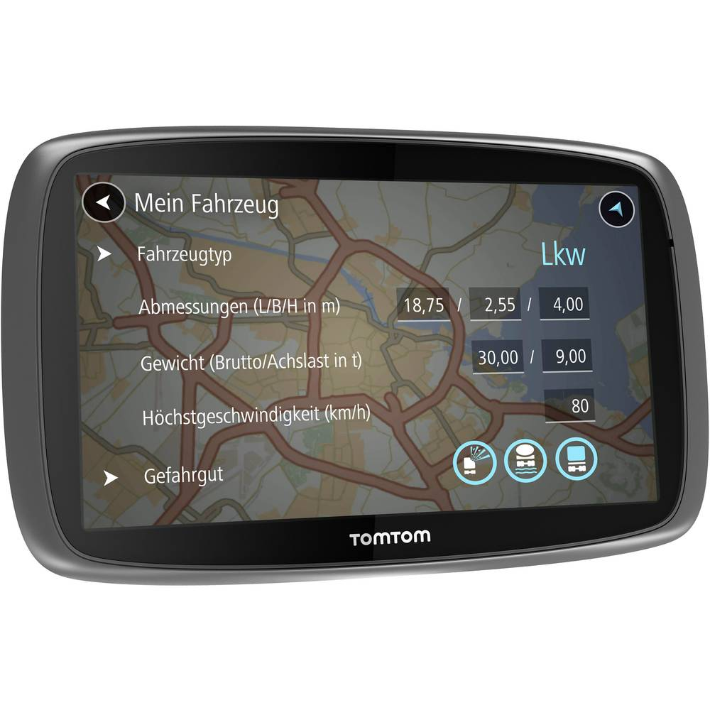 gps poids lourd tomtom trucker 6000 le lifetime edition 15 cm 6 pouces europe. Black Bedroom Furniture Sets. Home Design Ideas