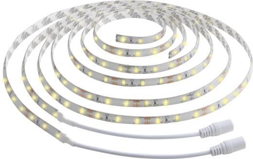 led streifen mit bewegungsmelder mit stecker 12 v 300 cm warm wei polarlite kaufen. Black Bedroom Furniture Sets. Home Design Ideas