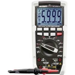Digitální multimetr VOLTCRAFT VC-450 E DMM (K) 1590173, Kalibrováno dle ISO, ochrana proti tryskající vodě (IP65)