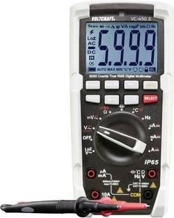 Multimètre numérique VOLTCRAFT VC-450 E Etalonnage: d'usine sans certificat protégé contre les projections d'eau (IP65)