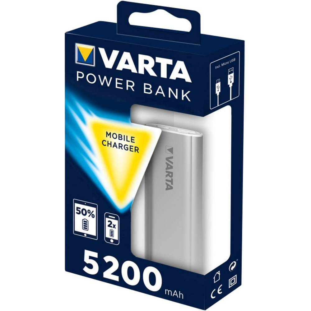 batterie power bank li ion varta power boost 5200 5200 mah. Black Bedroom Furniture Sets. Home Design Ideas