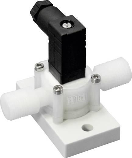 Durchfluss-Sensor 1 St. DFM PVDF-Chemie 5/8UNF B.I.O-TECH e.K. Betriebsspannung (Bereich): 4.5 - 24 V/DC Messbereich: 2.5 - 0.025 l/min (L x B x H) 77 x 62 x 60 mm