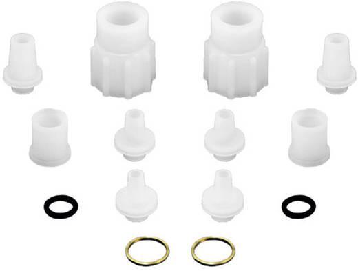 """Anschluss-Satz aus PVDF 16.66 mm (G 3/8"""") für Durchflussmesser B.I.O-TECH e.K. 150255 Passend für Sensoren: Durchflus"""