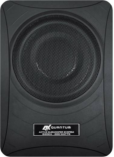 auto subwoofer aktiv 200 w esx q 202a. Black Bedroom Furniture Sets. Home Design Ideas