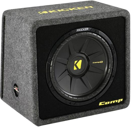 auto subwoofer passiv 600 w kicker vcomps12. Black Bedroom Furniture Sets. Home Design Ideas