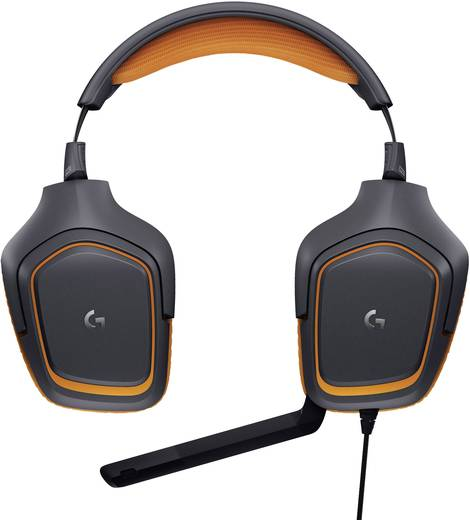gaming headset 3 5 mm klinke schnurgebunden stereo. Black Bedroom Furniture Sets. Home Design Ideas