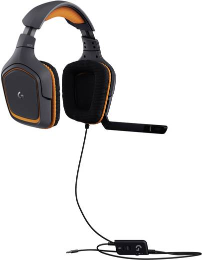 logitech gaming g231 prodigy gaming headset 3 5 mm klinke. Black Bedroom Furniture Sets. Home Design Ideas