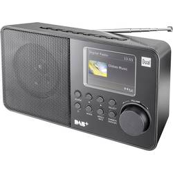 DAB+ přenosné rádio Dual DAB 18 C, DAB+, FM, černá