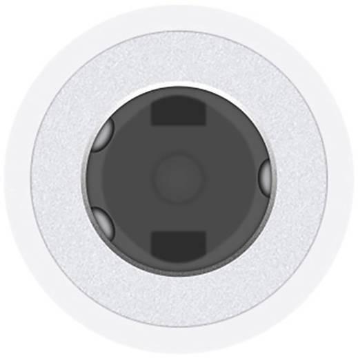apple iphone lightning auf 3 5mm klinke adapter mmx62zm a. Black Bedroom Furniture Sets. Home Design Ideas