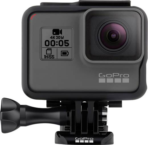 GoPro HERO 5 Black CHCHX-502 Action Cam Full-HD, Wasserfest, WLAN