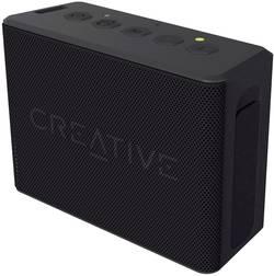 Bluetooth® reproduktor Creative Muvo 2c hlasitý odposlech (mikrofon pro telefonování), SD paměť. karta, odolná vůči stříkající vodě, černá