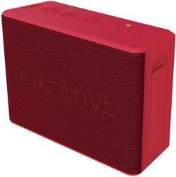 Bluetooth® reproduktor Creative Muvo 2c hlasitý odposlech (mikrofon pro telefonování), SD paměť. karta, odolná vůči stříkající vodě, červená