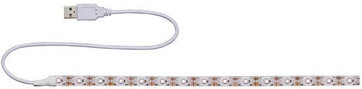 led streifen mit usb anschluss 5 v 30 cm kalt wei lead energy sucw30 70200186. Black Bedroom Furniture Sets. Home Design Ideas
