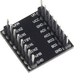 Rozšiřující deska pro Raspberry Pi® Joy-it sbc-motodriver1, ovládací modul pro stejnosměrné motory černá