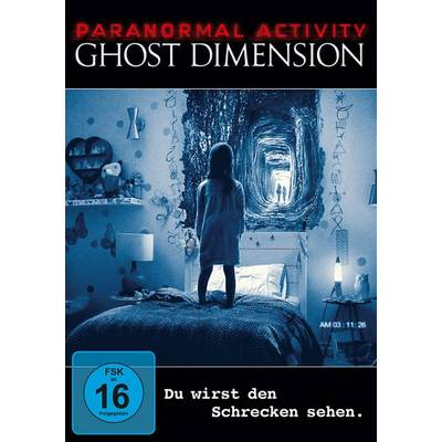 DVD Paranormal Activity Ghost Dimension FSK: 16 Preisvergleich