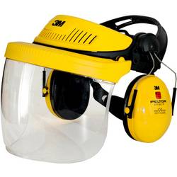 Lesnická ochranná helma 3M G500 7100029146, oranžová