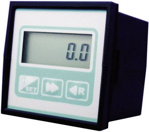 Flow-Controller/Vorwahl-Zähler mit potentialfreiem Relaiskontakt B.I.O-TECH e.K. FCC-01-CO (L x B x H) 88 x 72 x 72 mm