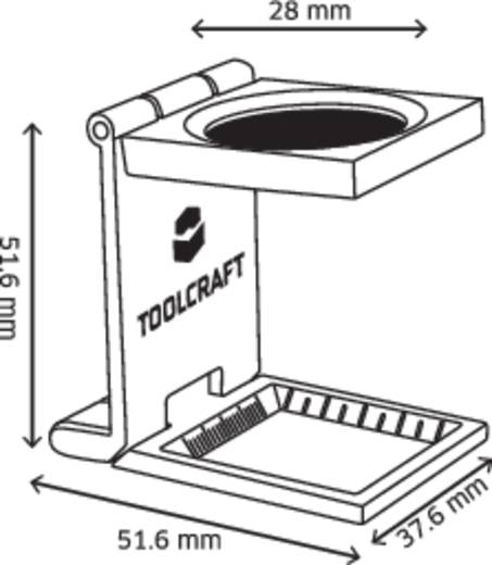 Fadenzähler Linsengröße: (Ø) 28 mm TOOLCRAFT