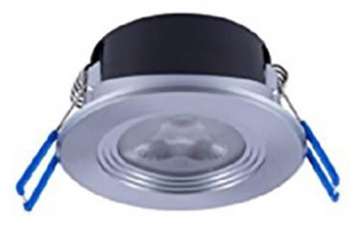 LED-Bad-Einbauleuchte 4.5 W Warm-Weiß Opple 140054076 EcoMax Aluminium (gebürstet)