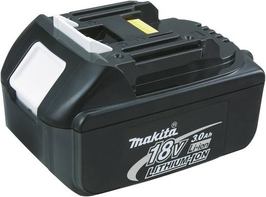 Makita DDF459RF4J Akku-Bohrschrauber 18 V 3 Ah Li-Ion inkl. 4. Akku, inkl. Koffer