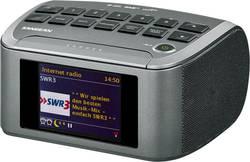 Internetové stolní rádio Sangean RCR-11 WF, AUX, DAB+, DLNA, internetové rádio, FM, USB, šedá