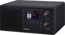 Internetové, DAB+, FM stolní rádio Sangean WFR-30, Wi-Fi, černá