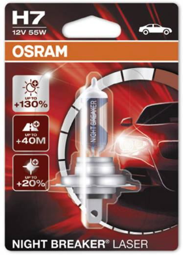 halogen leuchtmittel osram night breaker laser h7 55 w kaufen. Black Bedroom Furniture Sets. Home Design Ideas