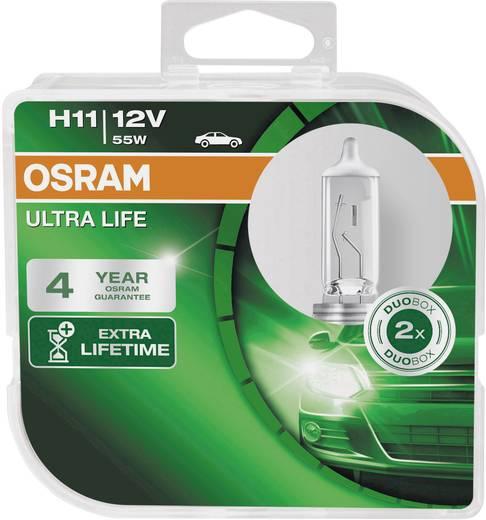 OSRAM Halogen Leuchtmittel Ultra Life H11 55 W