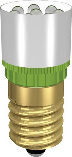 LED-Lampe E14 Weiß 230 V/DC, 230 V/AC 13000 mcd Signal Construct MCRE148368
