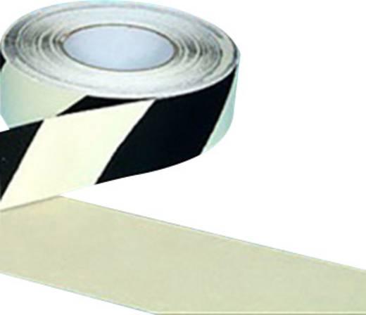 B-SAFETY AR226050 Antirutschbelag langnachleutend Schwarz, Weiß (L x B) 18.3 m x 50 mm