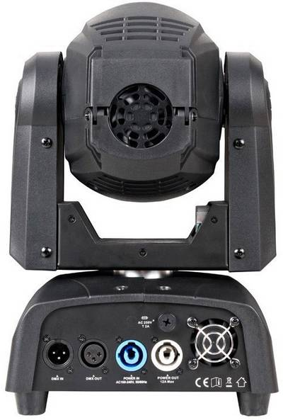 Testa mobile LED ADJ Focus Spot TWO Numero di LED:1 x 75 W