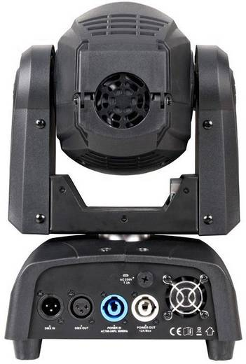 led moving head adj focus spot two anzahl leds 1 x 75 w. Black Bedroom Furniture Sets. Home Design Ideas