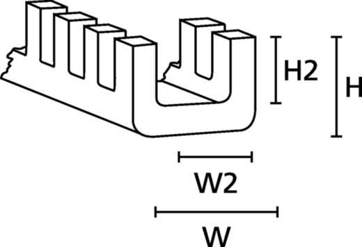 HellermannTyton G51NC PA6 NA 25 Kantenschutz Polyamid Natur (A x B x C x D) 5.7 x 3.5 x 4.3 x 2.7 25 m