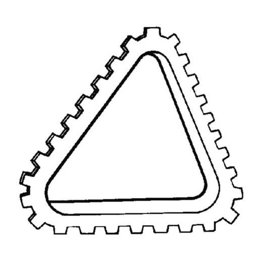 HellermannTyton G51NE PA6 NA 25 Kantenschutz Polyamid Natur (A x B x C x D) 9.9 x 6.7 x 6.4 x 4.5 25 m