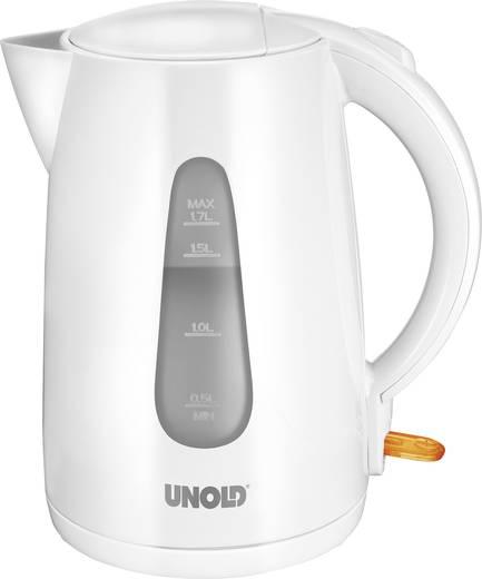 Unold Wasserkocher schnurlos Weiß (glänzend)