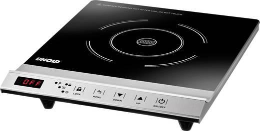 induktionsplatte mit topferkennung timerfunktion temperaturvorwahl unold einzel profi 58255 kaufen. Black Bedroom Furniture Sets. Home Design Ideas