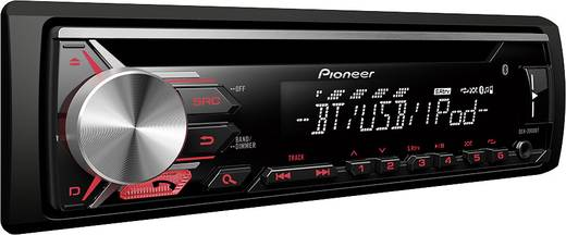 pioneer deh 3900bt autoradio bluetooth. Black Bedroom Furniture Sets. Home Design Ideas