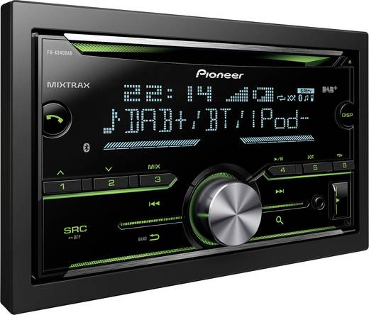 doppel din autoradio pioneer fh x840dab bluetooth freisprecheinrichtung dab tuner. Black Bedroom Furniture Sets. Home Design Ideas