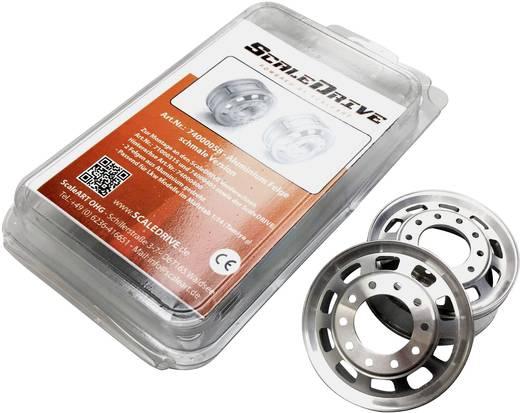 ScaleDrive 1:14 LKW Felgen Aluminium Euro-Optik Aluminium 1 Paar