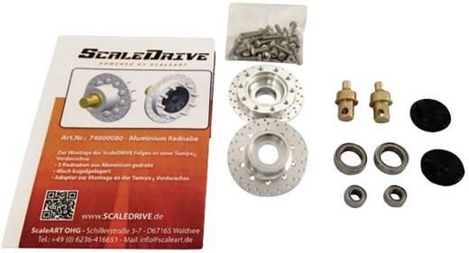 ScaleDrive 74000080 1:14 Alu-Radnabe für Vorderachse 1 St.